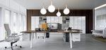 здрави дизайнерски директорски офис мебели с красив дизайн