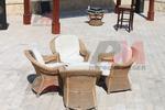 Богатство от изпълнения на мебел от естествен ратан по поръчка