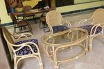 Мебел от естествен ратан с високо качество и дълъг срок на използване