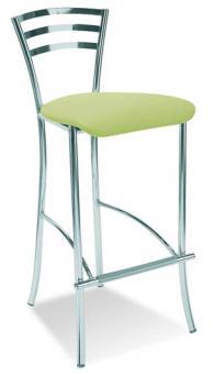Бар стол MOLINO 78  hocker chrome plus