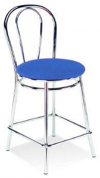 Бар стол TULIPAN 78  chrome