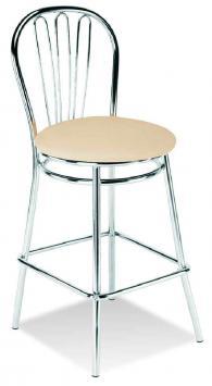 Бар стол VEGA hocker chrome
