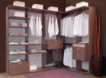 поръчкови мебели за обзавеждане на Вашата луксозна гардеробна