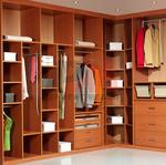гардеробни по поръчка за нетипични спални помещения