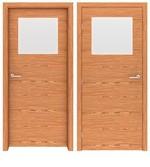 солидни  интериорни врати с декоративни первази
