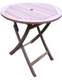 Кръгла маса за градина и заведение