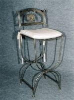Изработка на бар столове от ковано желязо