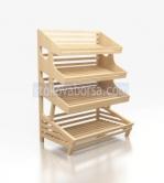 Дървени стелажи за хлебни изделия