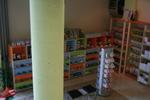 стелажи за магазини за детски обувки