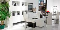 Обзавеждане за офис в бяло