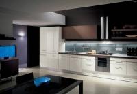 Луксозни бели мебели за кухня