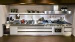 модерна метална кухня
