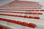 Пластмасови седалки за спортни трибуни
